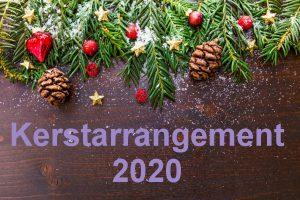 Kerst arrangement 2020 bowlen in assen